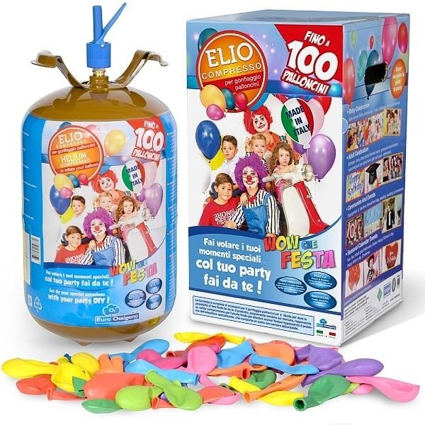 Helium a přílušenství