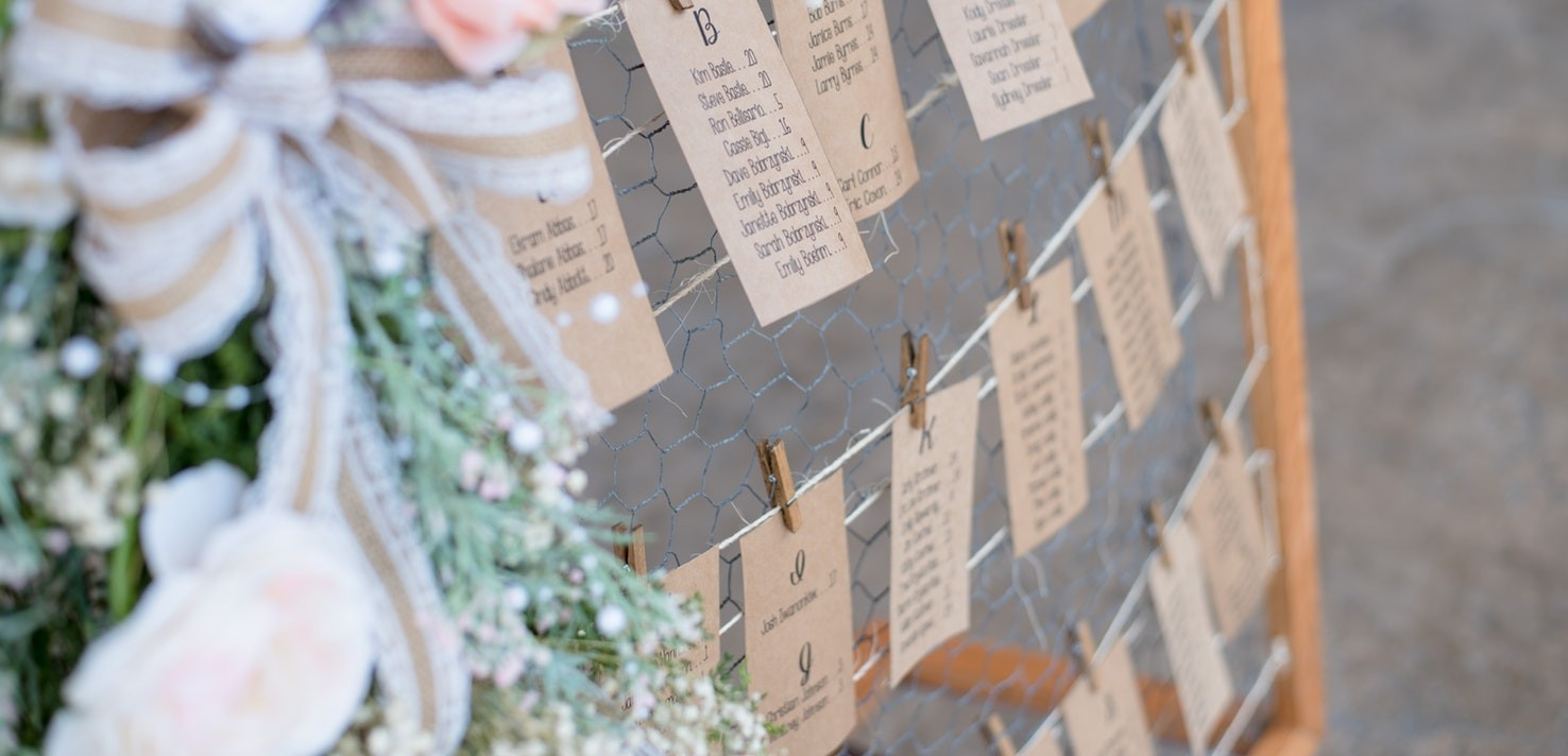 Pronájem a půjčovna svatebních dekorací, doplňků a inventář